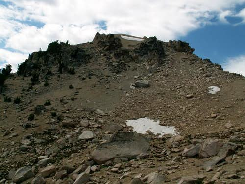 Braxon Peak\'s east ridge from...