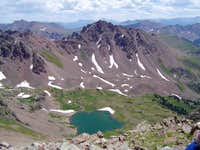 Deluge Lake, from the summit...