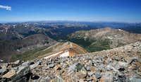 Gray's Peak Summit looking...