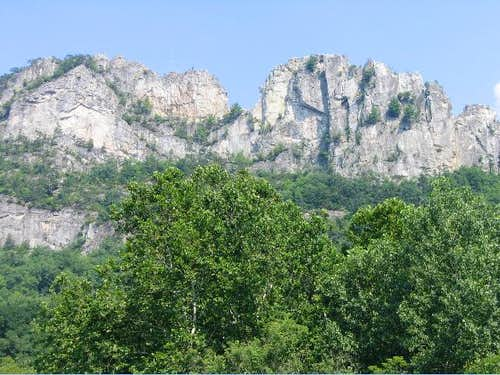 Seneca Rocks as of 8/05