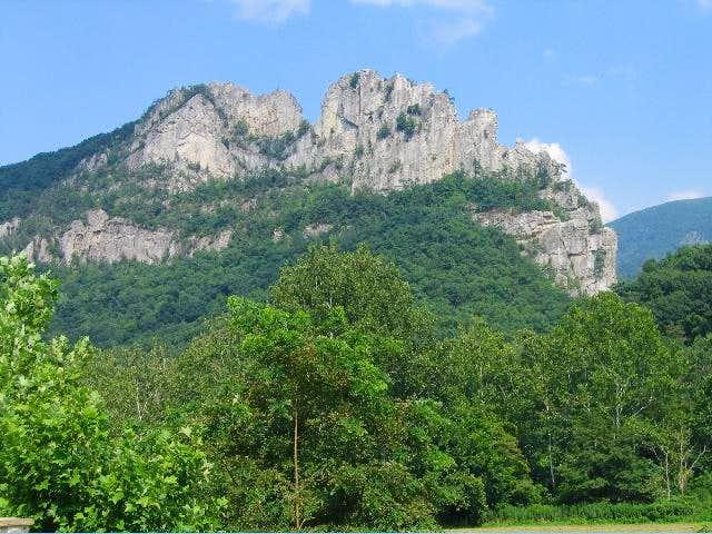 Seneca Rocks as of 8/05