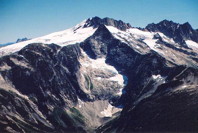Mt. Challenger from the west...