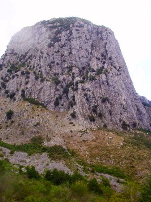 One of the East face...