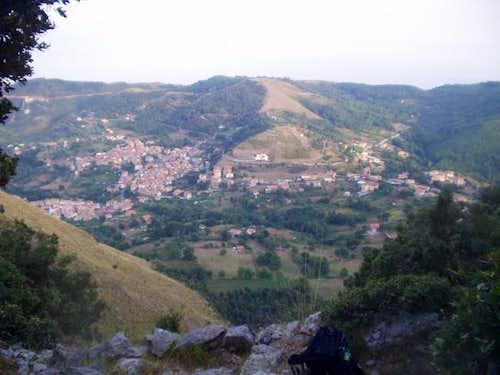 Overlooking San Giovanni a...