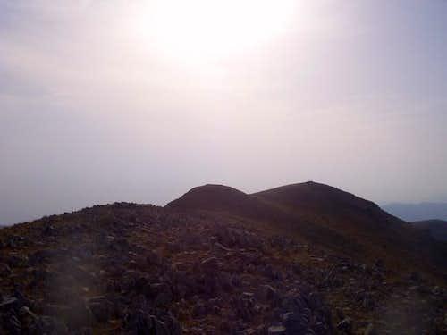 The three summits of...