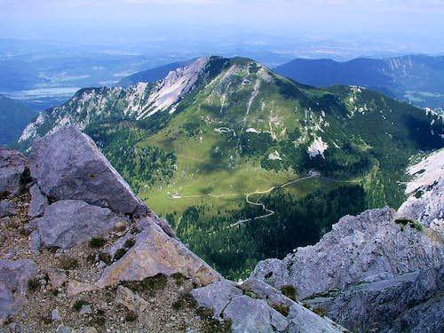 Stol/Hochstuhl - the summit...