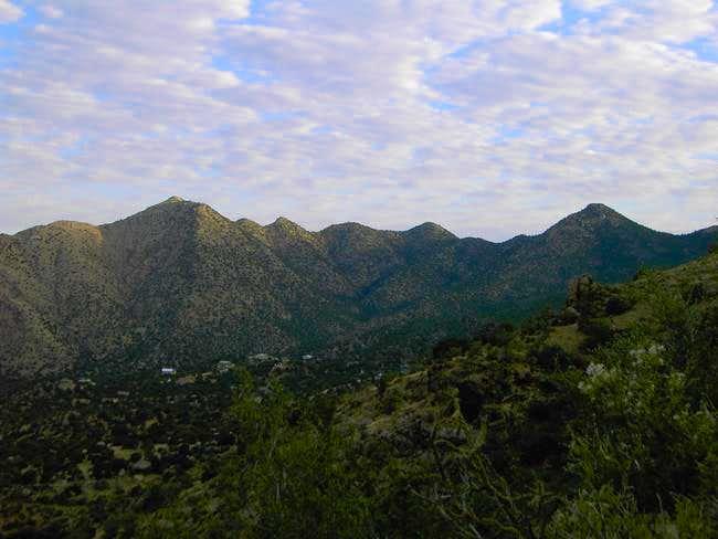 Taken from the La Luz Trail,...
