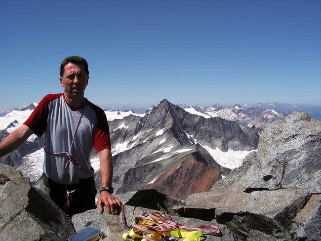 Nick on summit, Forbidden in...