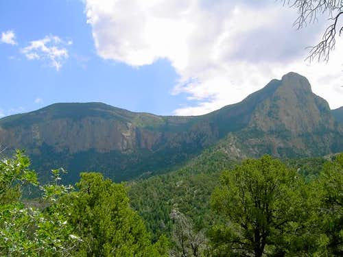 North Sandia Peak