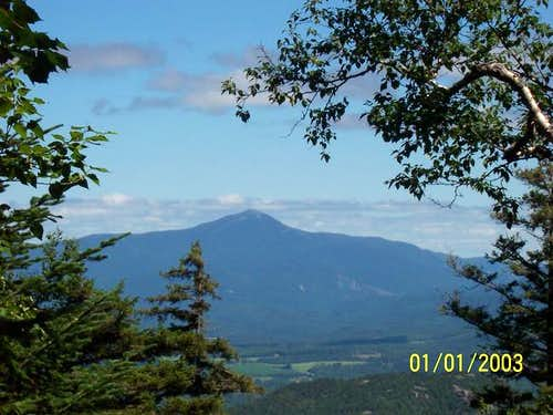 Whiteface from the trail up...