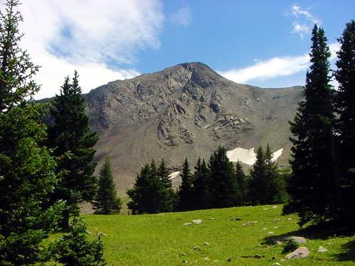 Tackling Spread Eagle Peak