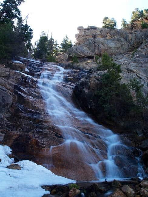 Base of St. Marys Falls, Apr...