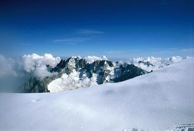 Aiguille Verte from the...