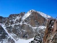 Longs Peak east face taken...