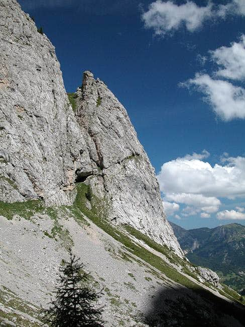 The starting point of Ferrata...