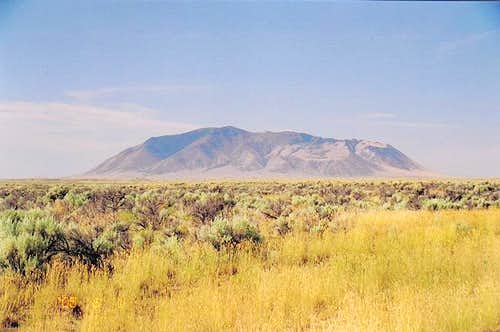 View of Big Southern Butte...