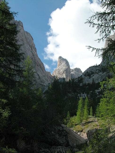 Entering the Vallaccia Valley...