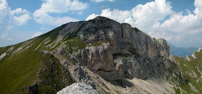 Punta della Vallaccia as seen...