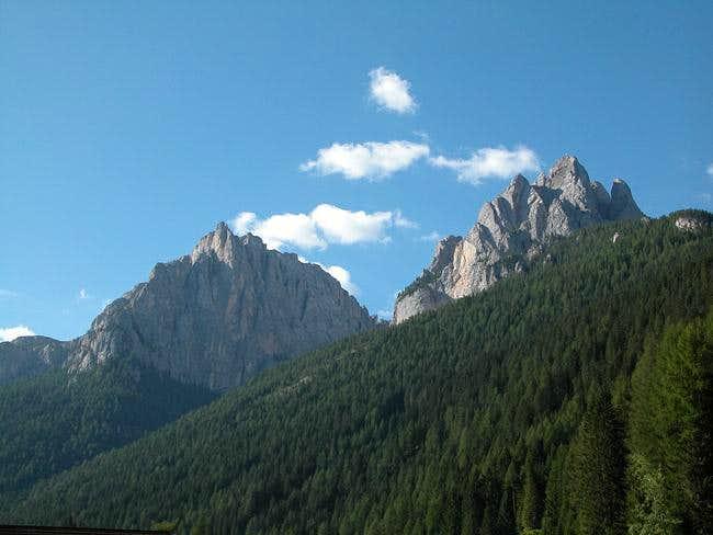 Torre Valaccia (2514m) and...