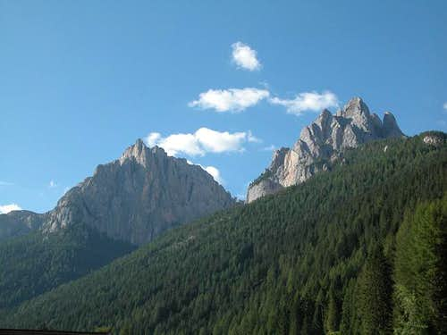 Torre Valaccia (2514m) and...