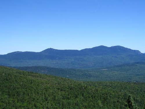 The Bigelow mountains view...