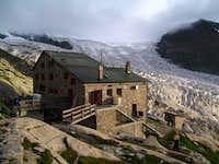 The Monte Rosa hut