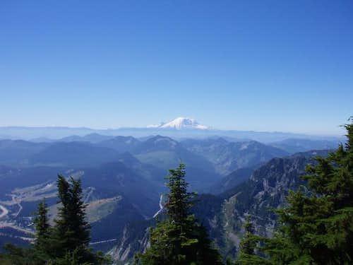 Mt Rainer from Mt snoqualmie
