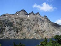 Gothic Peaks and Foggy Lake...