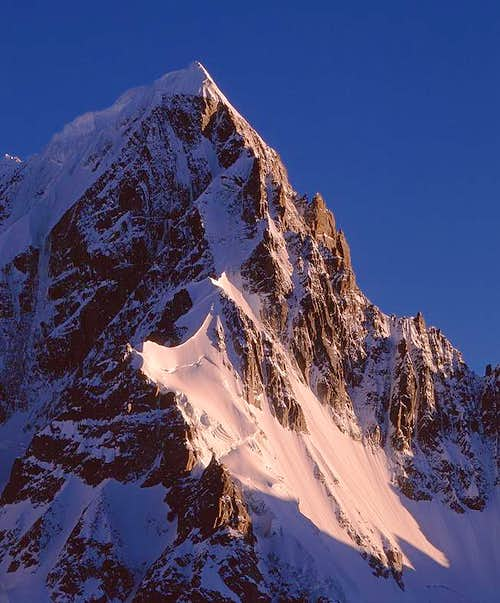 Mount Chola Peak-2 (6119m) at...