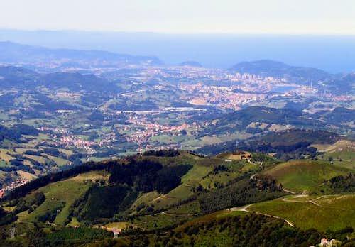 View of Donosti/San Sebastian