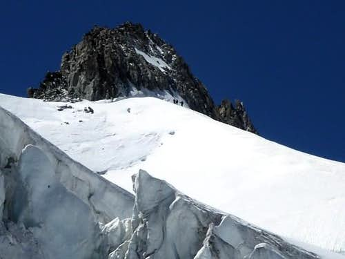 Aiguille d\'Entrèves from the NW