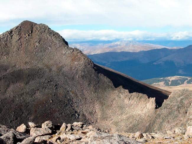 Mt. Bierstadt and the...