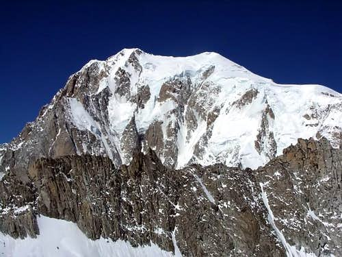 Mont Blanc's East Face