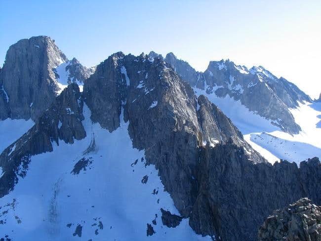 Mt. Gayley from the summit of...