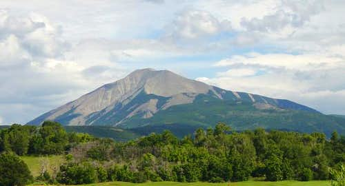 East Spanish Peak from the...