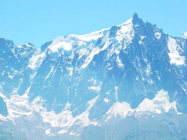 North Face of the Aiguille du...