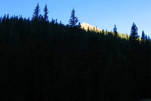 Baldy Mountain From Copperpark - Uncropped<BR><font color=