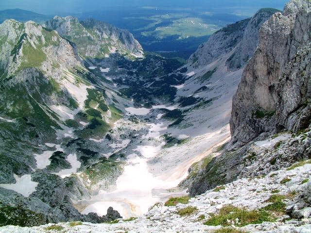 Velika Kalica valley from...