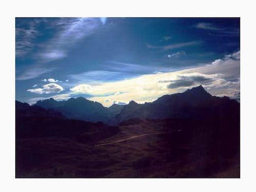 Alpe Fanes Piccola viewed...