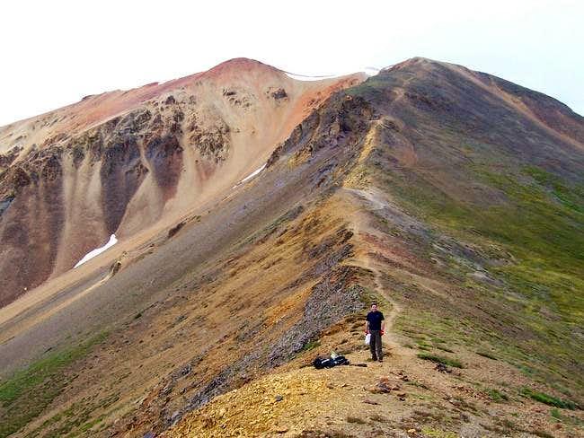 Hiking partner, Todd Schauer,...