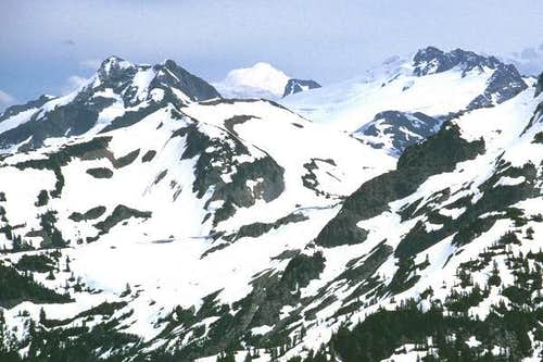 Whatcom Peak, the top of Luna...