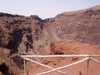 Vesuvius' crater. The actual...