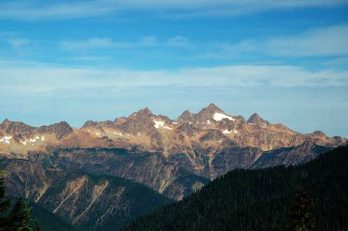 Twin Sisters from Dock Butte...