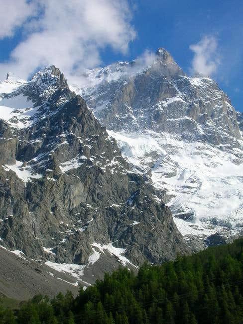 La Meije Grand Pic as seen...