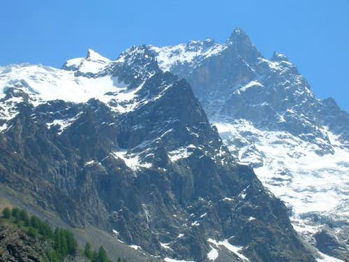 La Meije Grand Pic from the...