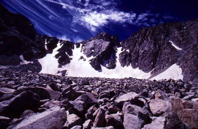 Mount Lamarck - North Face