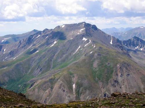 Mt Harvard from the summit of...