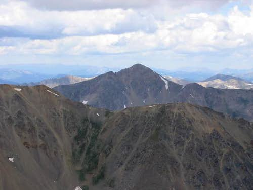 Huron Peak from the summit of...