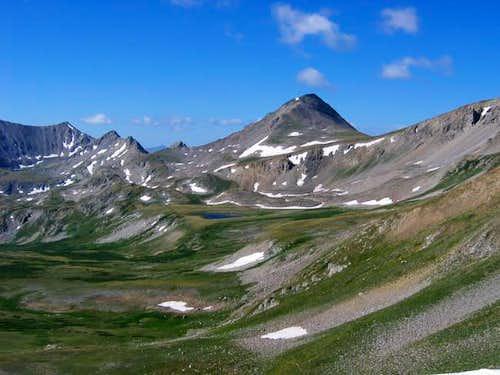 Emerald Peak from Elkhead...