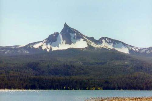 Mount Thielsen from Diamond...